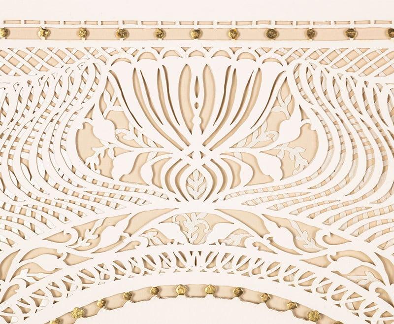 modern papercut ketuba