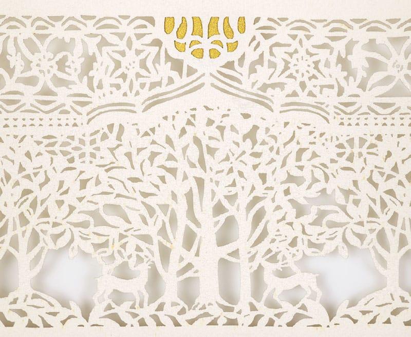 laser cut ketubah by danny azoulay