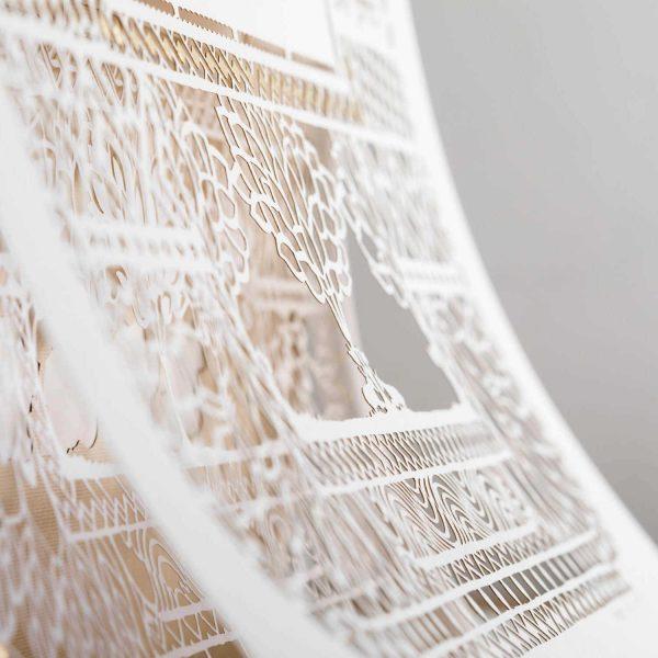 paper cut ketubah lairs
