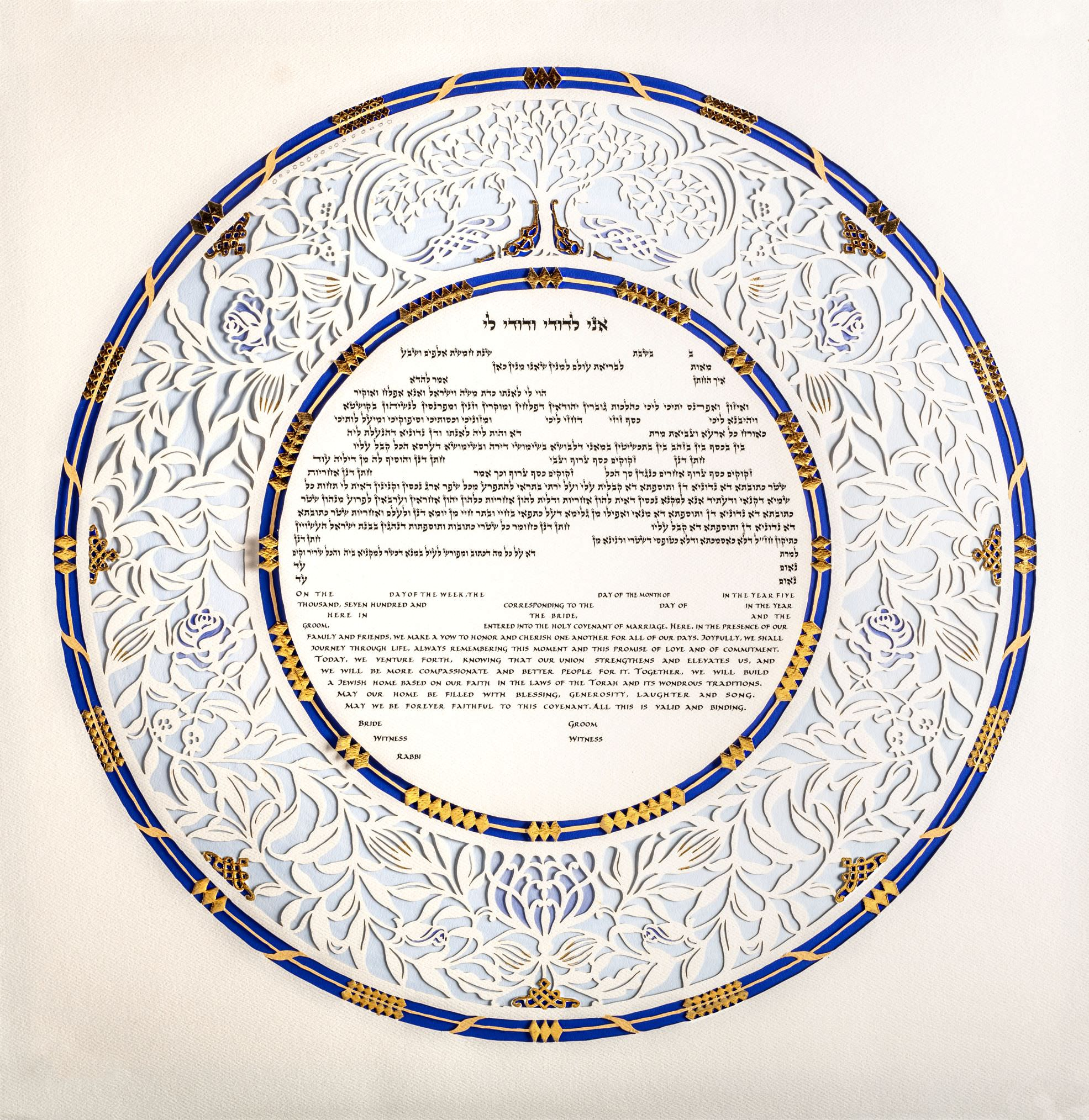 Amazing ketubah for couples