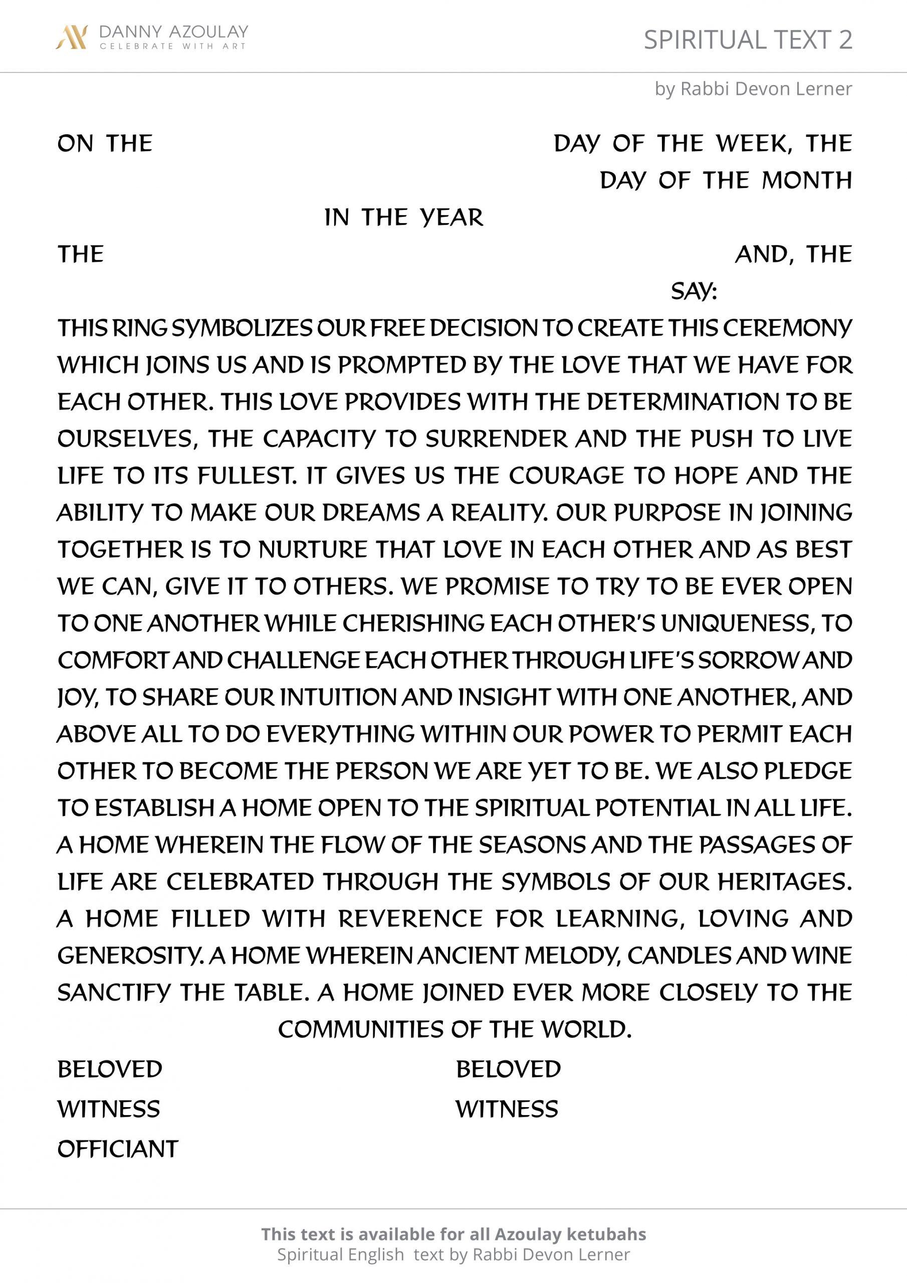 Spiritual Text 2