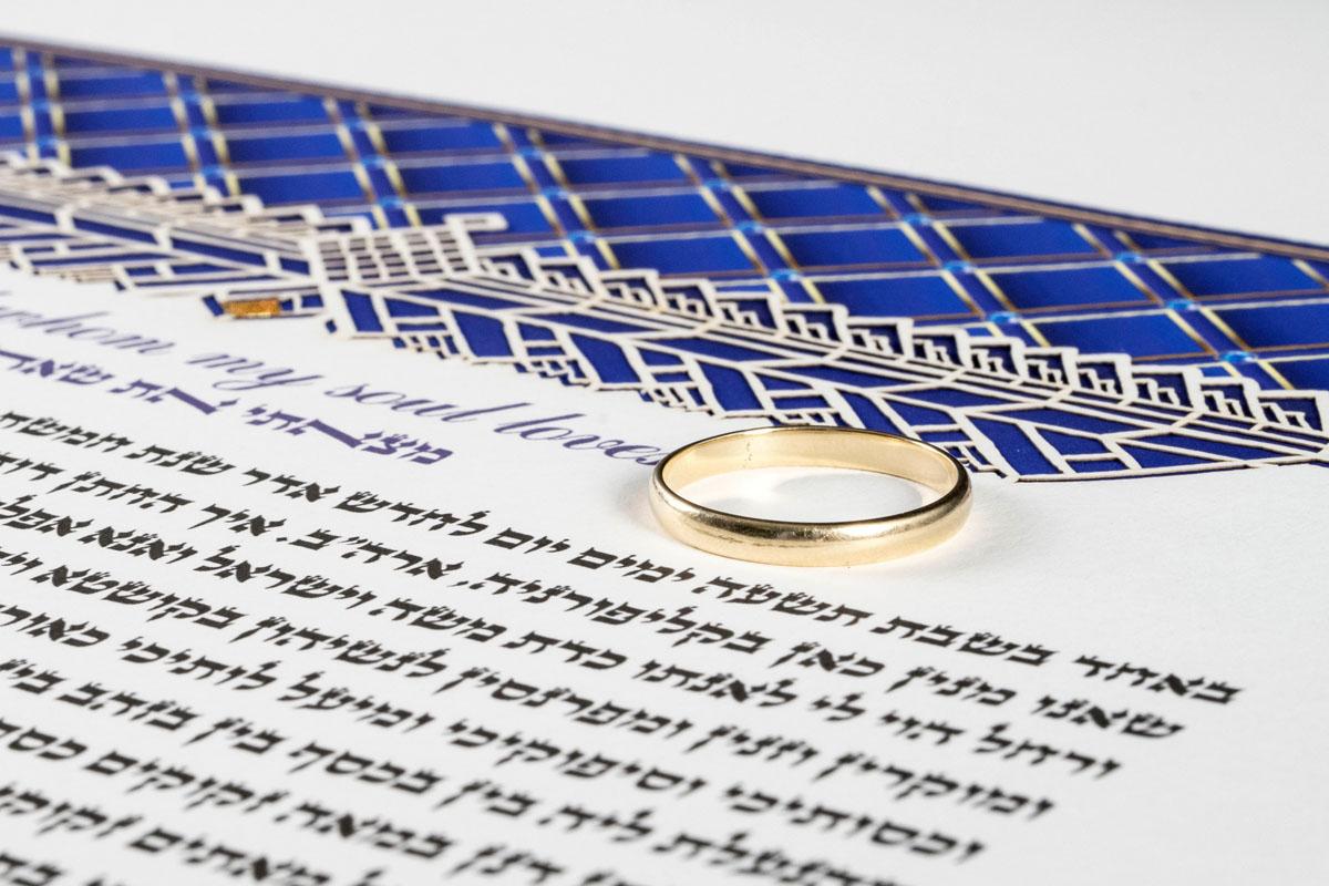 Lapis Lazuli Royal with Gold Ring